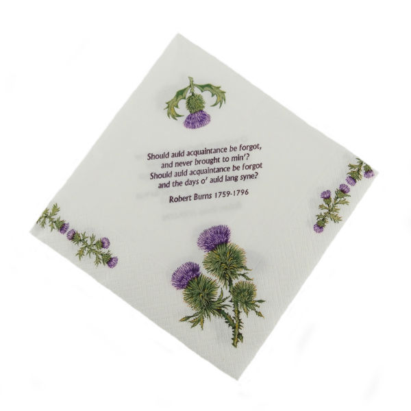 Thistle and Burns Napkins